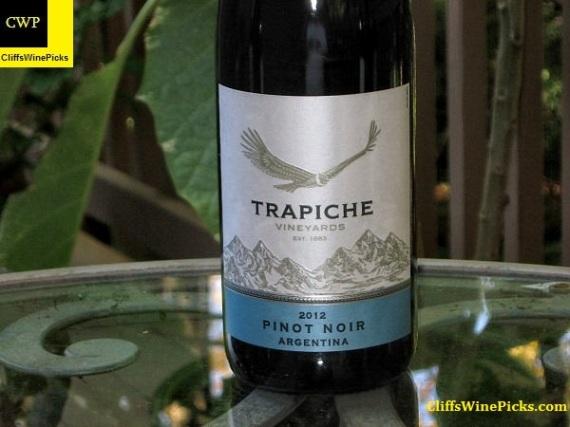 2012 Trapiche Pinot Noir