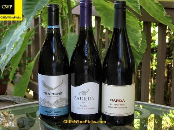 Argentina Pinot Noir line up
