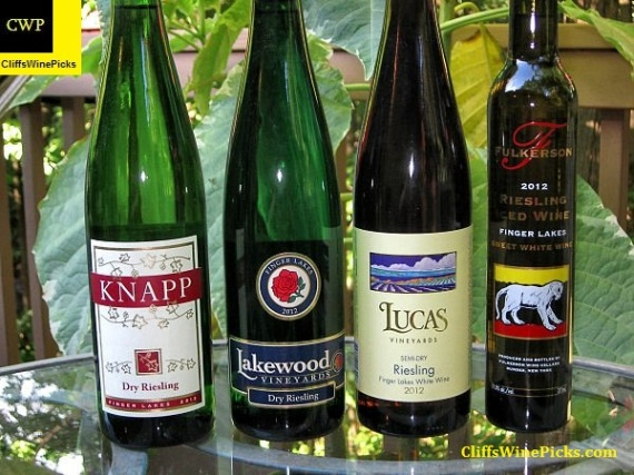 Finger Lakes Riesling Line Up