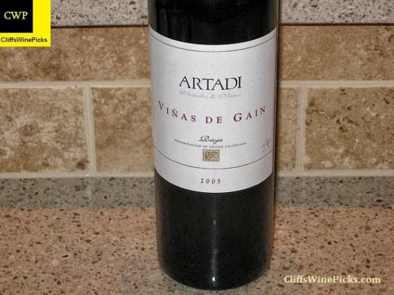 2005 Artadi Rioja Viñas de Gain