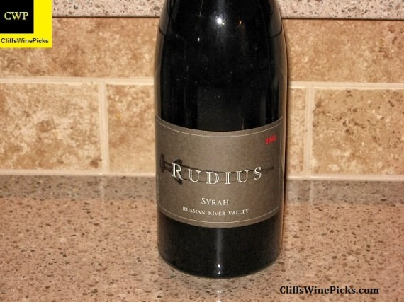 2005 Rudius Syrah Russian River Valley