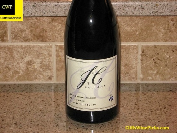 2007 JC Cellars Petite Sirah Eaglepoint Ranch