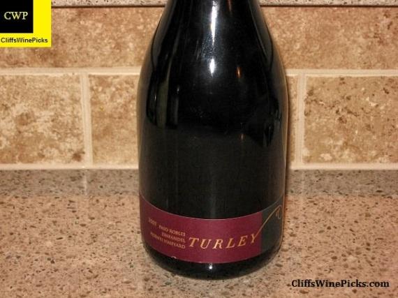 2007 Turley Zinfandel Pesenti Vineyard