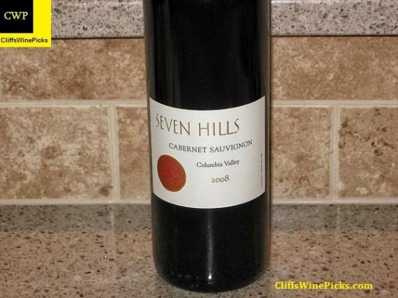 2008 Seven Hills Winery Cabernet Sauvignon Columbia Valley
