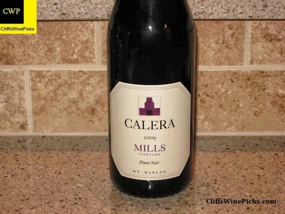 2009 Calera Pinot Noir Mills Vineyard