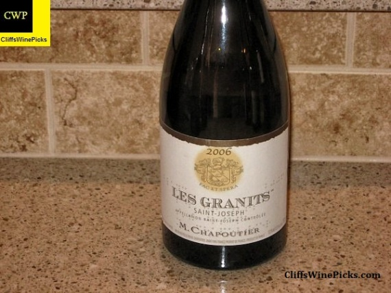 2006 M. Chapoutier St. Joseph Blanc Les Granits