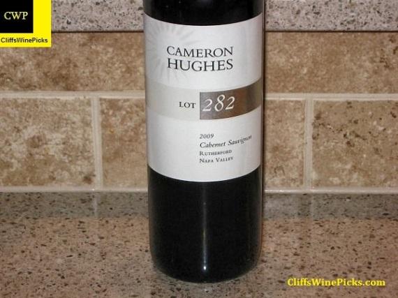 2009 Cameron Hughes Cabernet Sauvignon Lot 282