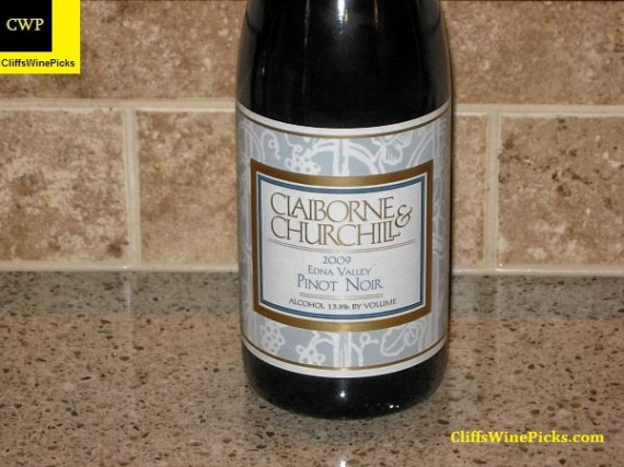 2009 Claiborne and Churchill Pinot Noir
