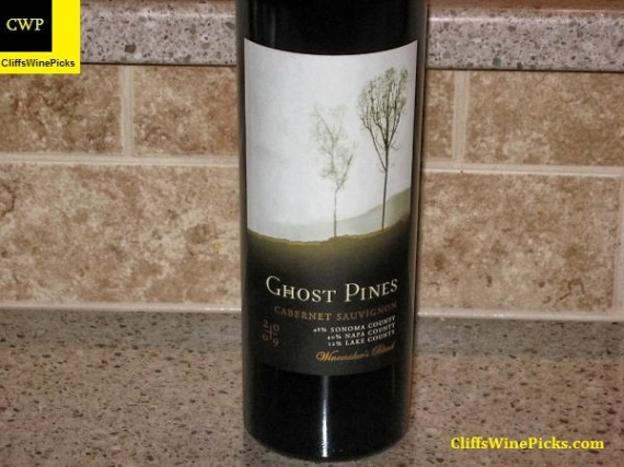 2009 Ghost Pines Cabernet Sauvignon Winemaker's Blend