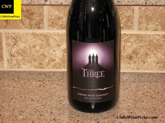 "2010 Loring Wine Company Pinot Noir ""The Three"""