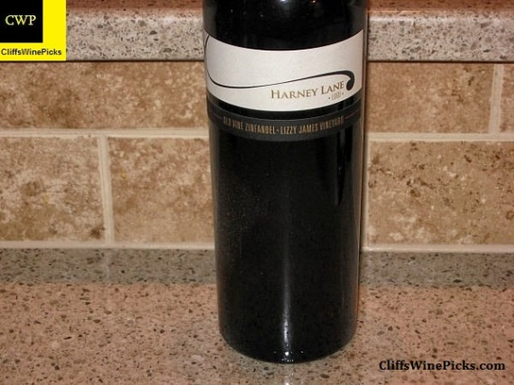 2011 Harney Lane Zinfandel Old Vine Lizzy James Vineyard