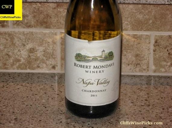 2011 Robert Mondavi Winery Chardonnay