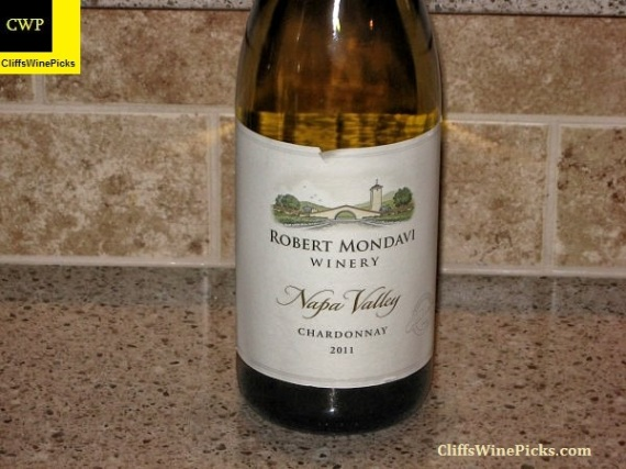 2011 Robert Mondavi Winery Chardonnay