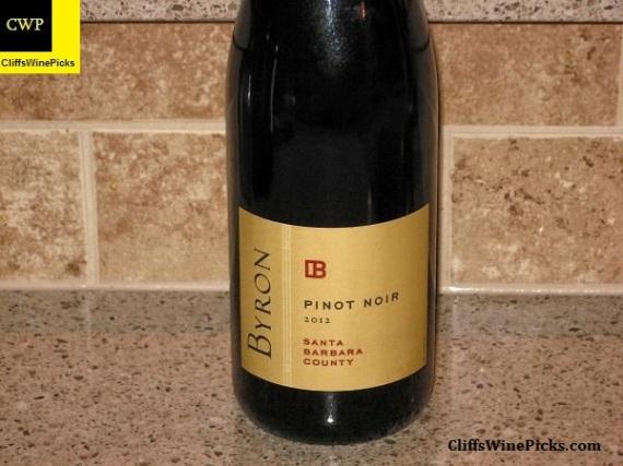 2012 Byron Pinot Noir Santa Barbara County