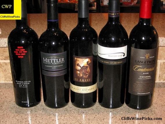 Mulit-Generational Lodi Wines line up