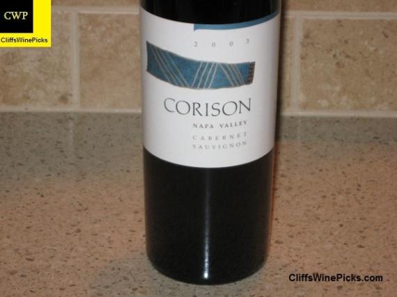 2003 Corison Cabernet Sauvignon
