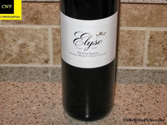 2007 Elyse Petite Sirah Barrel Select