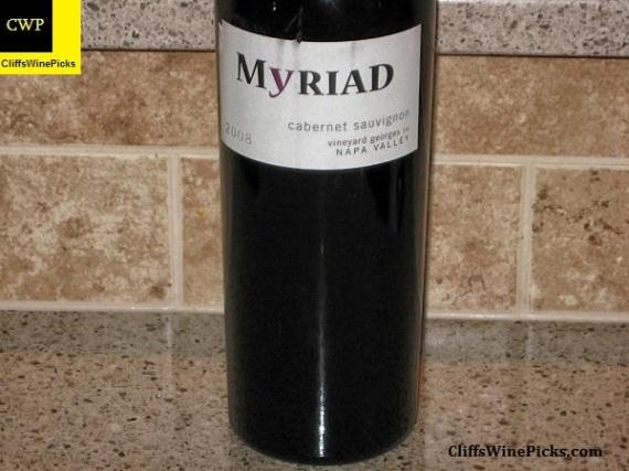 2008 Myriad Cellars Cabernet Sauvignon Beckstoffer Georges III Vineyard