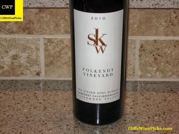 2010 Steven Kent Cabernet Sauvignon Folkendt Vineyard