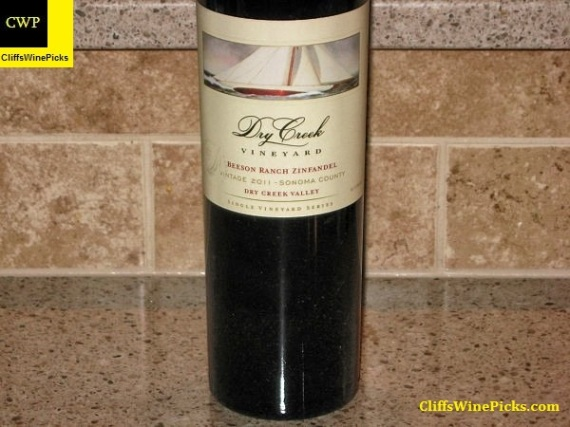 2011 Dry Creek Vineyard Zinfandel Beeson Ranch