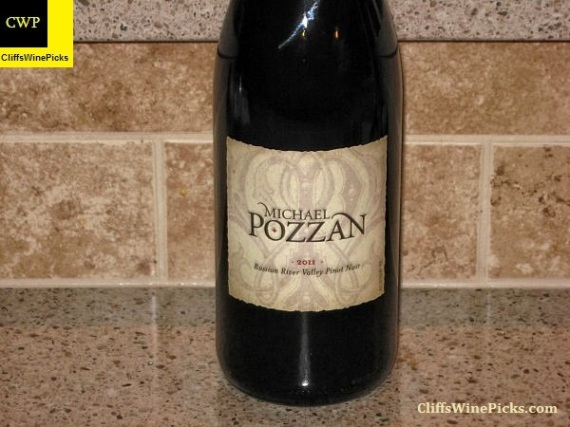 2011 Michael Pozzan Winery Pinot Noir Russian River Valley