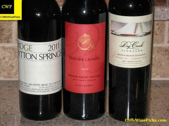 Dry Creek Valley Zin blends