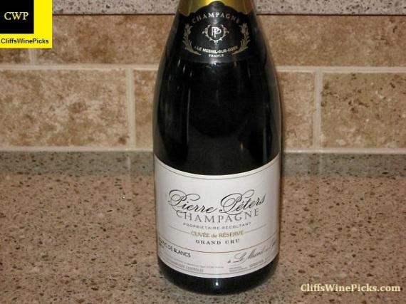 N.V. Pierre Péters Champagne Blanc de Blancs Brut Cuvée de Réserve