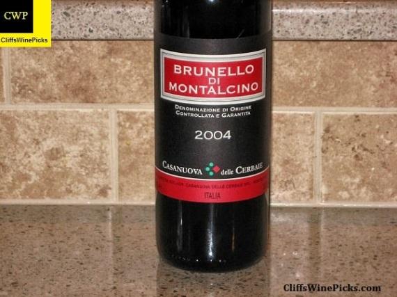 2004 Casanuova delle Cerbaie Brunello di Montalcino