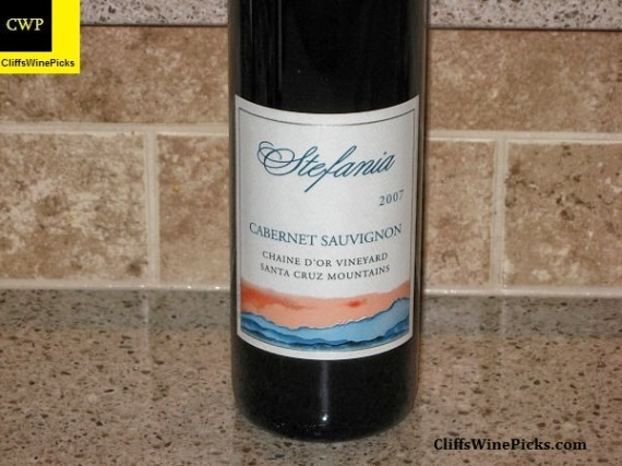 2007 Stefania Cabernet Sauvignon Chaine d' Or Vineyard