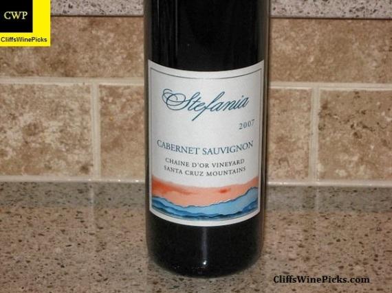 2007 Stefania Cabernet Sauvignon Chaine d' Or Vineyard