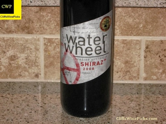 2008 Water Wheel Shiraz Plus (+)