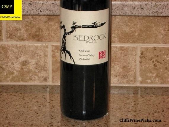2009 Bedrock Wine Co Zinfandel Old Vine
