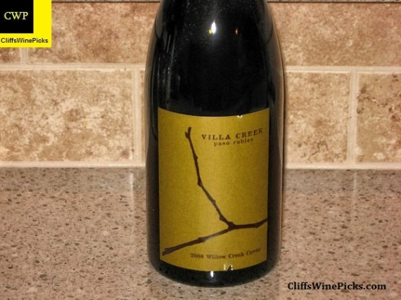 2008 Villa Creek Willow Creek Cuvée