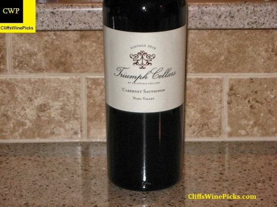 2010 Triumph Cellars by Calistoga Cellars Cabernet Sauvignon