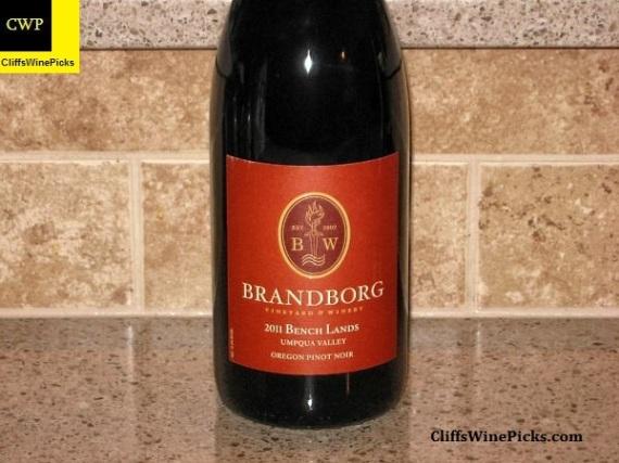 2011 Brandborg Pinot Noir Bench Lands