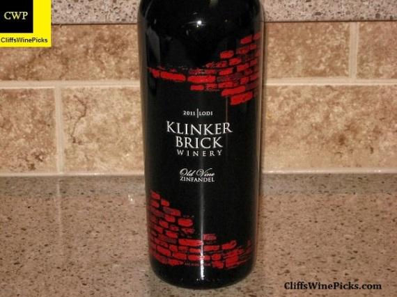 2011 Klinker Brick Zinfandel Old Vine