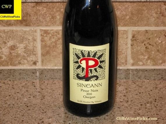 2011 Sineann Pinot Noir Oregon