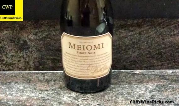 2012 Meiomi Pinot Noir Meiomi