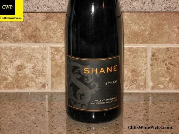 2006 Shane Syrah Valenti Ranch