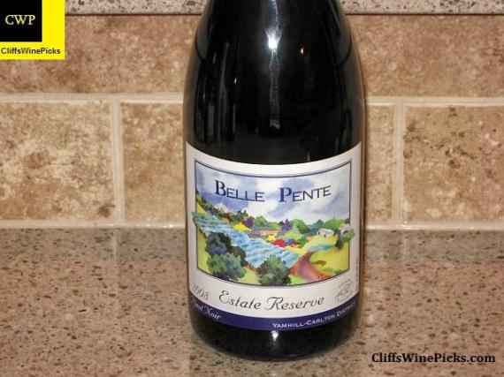 2008 Belle Pente Pinot Noir Estate Reserve