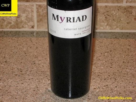 2008 Myriad Cellars Cabernet Sauvignon