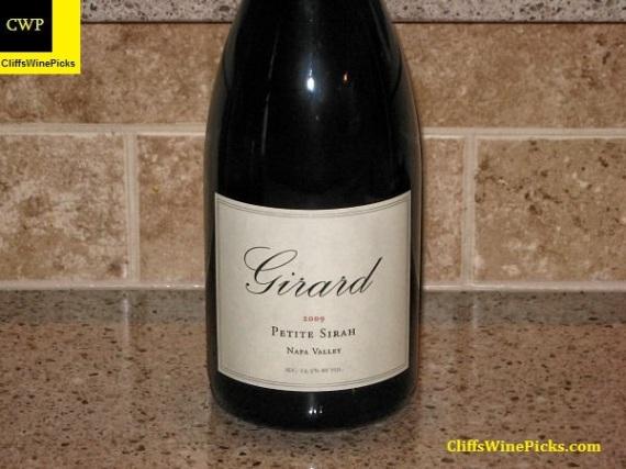 2009 Girard Petite Sirah