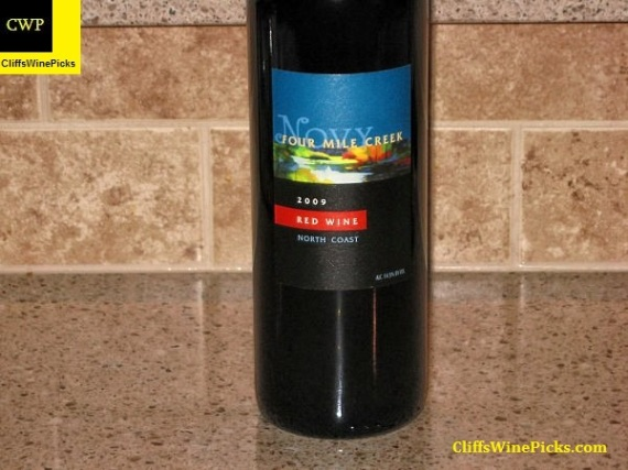 2009 Novy Family Wines Four Mile Creek