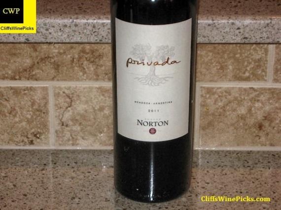 2011 Bodega Norton Malbec Privada Mendoza