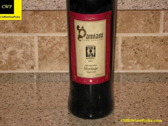 2011 Damiani Wine Cellars Meritage