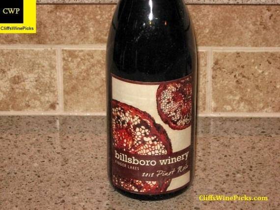 2012 Billsboro Pinot Noir
