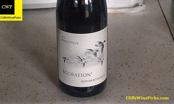 2012 Migration (Duckhorn Vineyards) Pinot Noir Russian River Valley