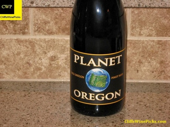 2012 Planet Oregon Pinot Noir
