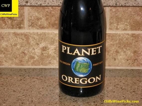 2012 Planet Oregon Pinot Noir