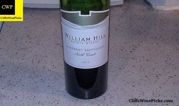 2012 William Hill Winery Cabernet Sauvignon North Coast